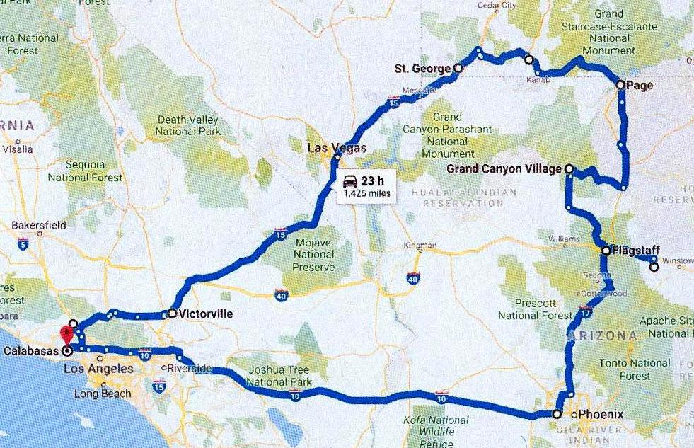 Family Trip To Arizona And Utah